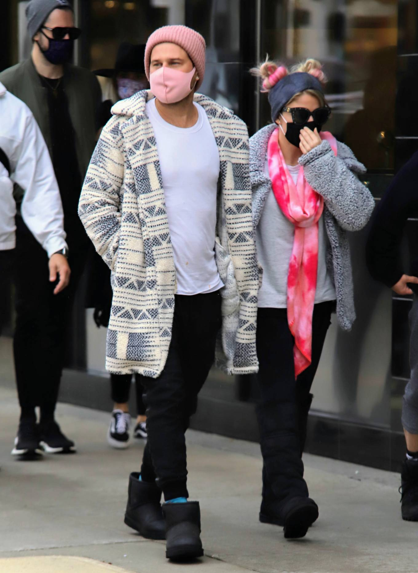 Alexa Bliss - Shopping candids on Rodeo Drive in Beverly Hills