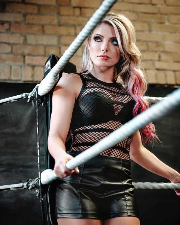 Alexa Bliss - WWE photoshoot (March 2020)