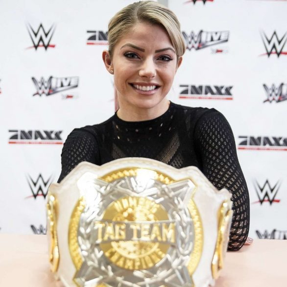 Alexa Bliss - WWE Promo Tour in Germany