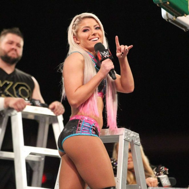 Alexa Bliss - WWE Raw in Little Rock
