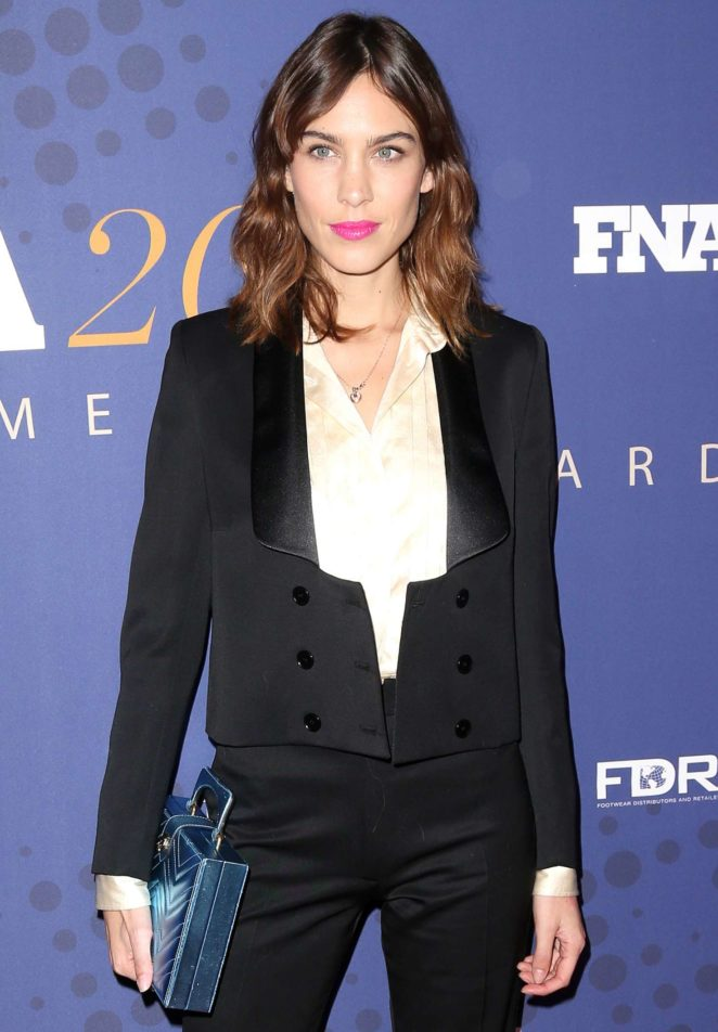 Alexa Chung - 2017 FN Achievement Awards in New York City