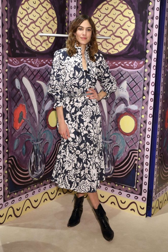 Alexa Chung - Alexachung Virginia Collection Launch in Tokyo