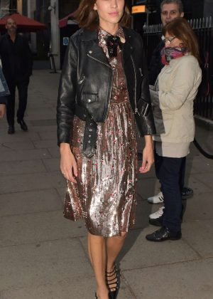 Alexa Chung at Gucci Party in London