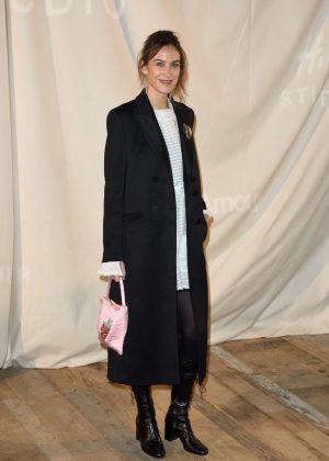 Alexa Chung at H&M Studio Show in Paris