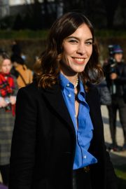 Alexa Chung - Attends the Dior Haute Couture SS 2020 Show in Paris