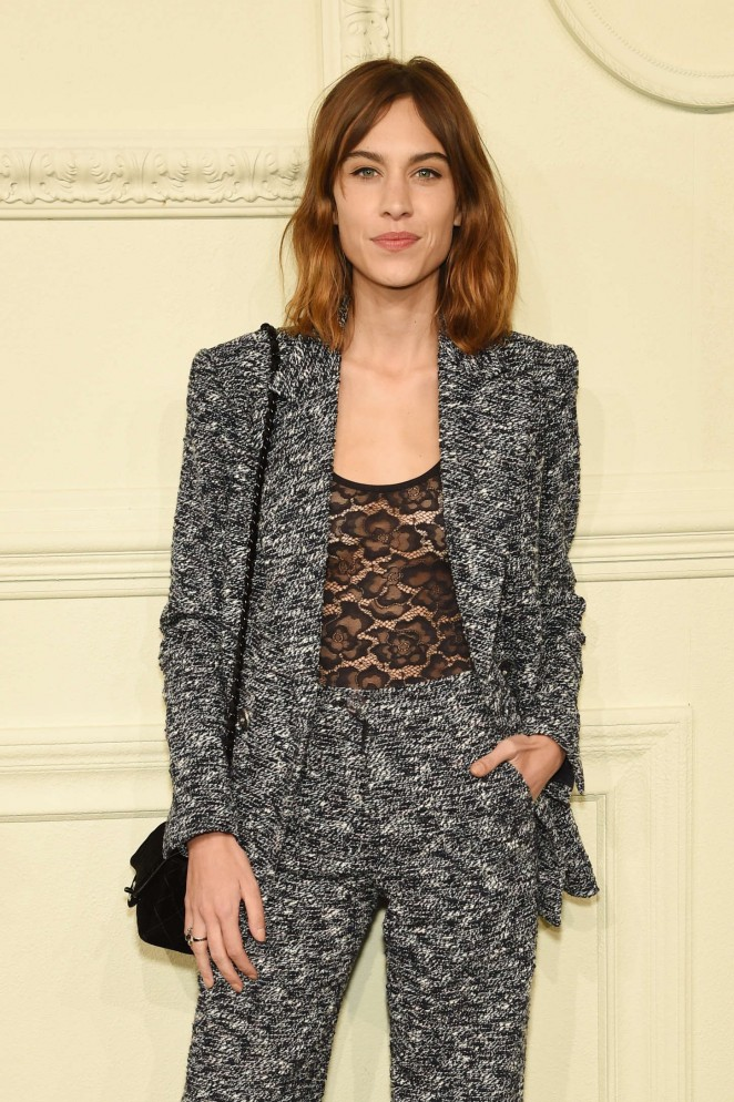 Alexa Chung - CHANEL Paris-Salzburg Metiers d'Art Collection in NYC