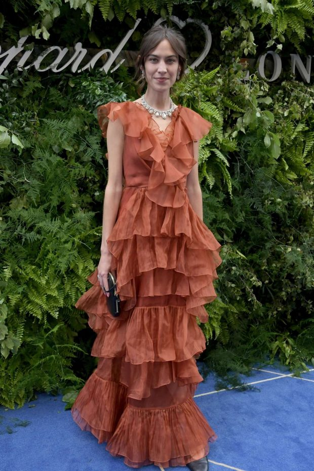 Alexa Chung - Chopard Bond Street Boutique Reopening in London