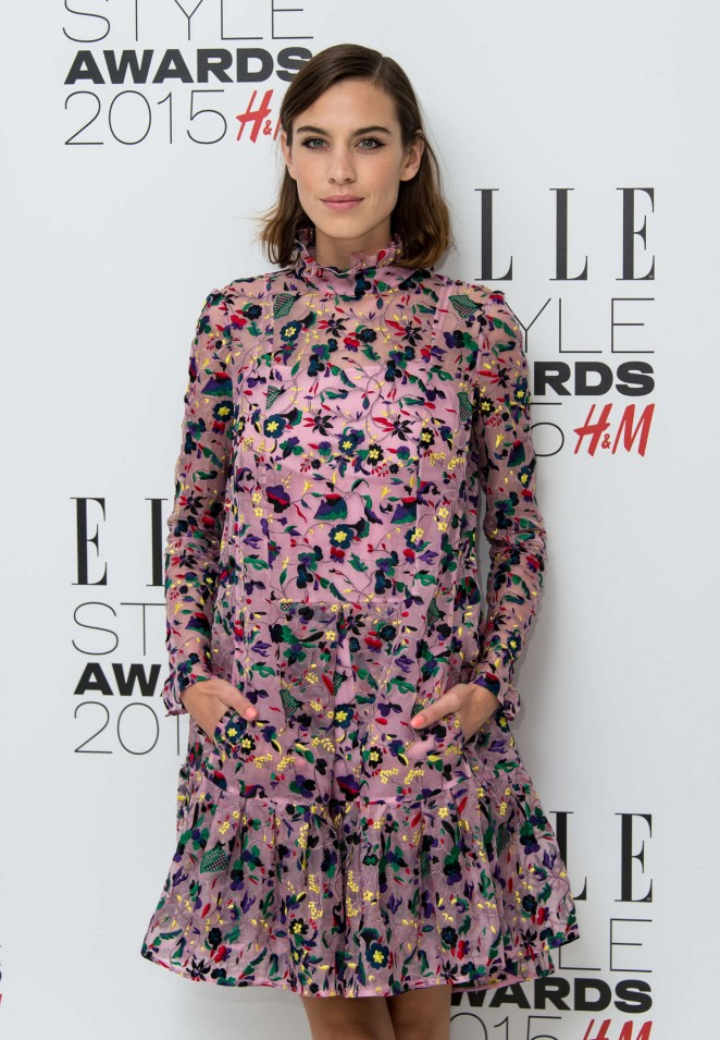 Alexa Chung - Elle Style Awards 2015 in London