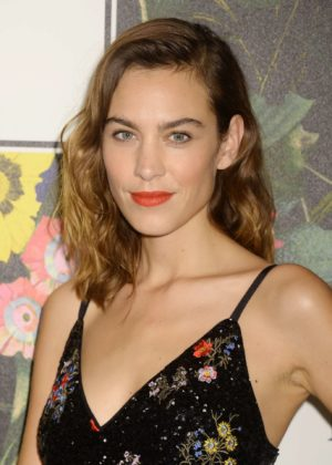 Alexa Chung - Erdem x H&M Launch Event in Los Angeles