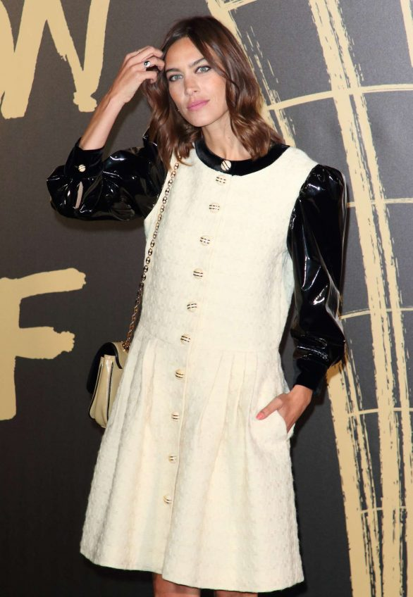Alexa Chung - Fashion For Relief 2019 in London