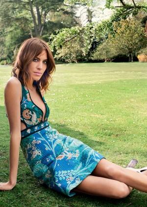 Alexa Chung - Harper's Bazaar UK Magazine (July 2015) adds
