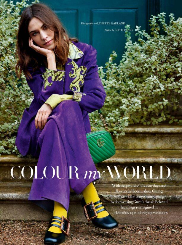 Alexa Chung - Harper's Bazaar (UK - May 2021)