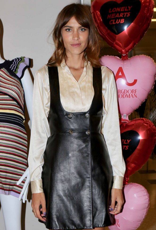 Alexa Chung - host The Lonely Hearts Club Event in New York