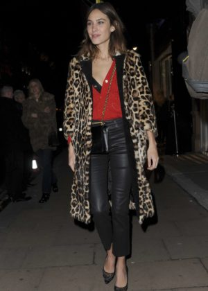 Alexa Chung - Jimmy Choo v Annabels Launch Party in London