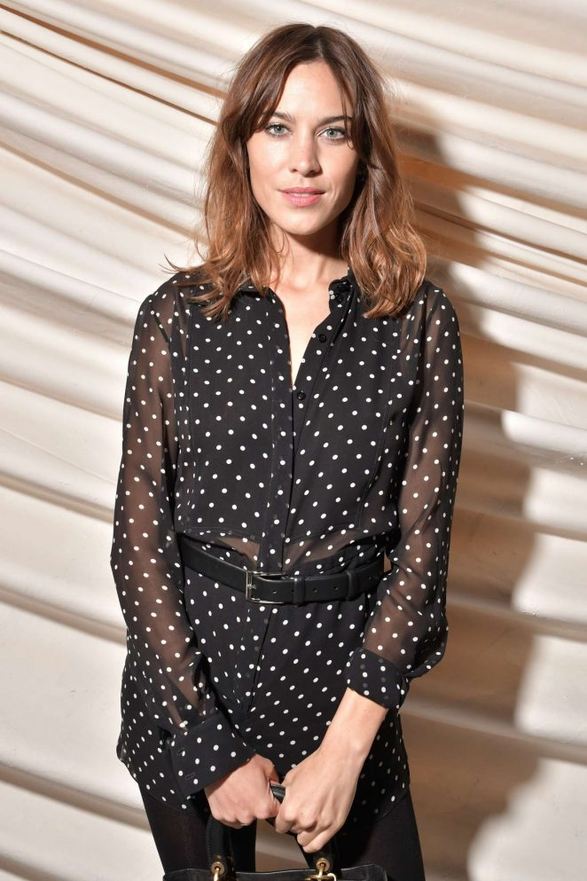 Alexa Chung - Le Bal Surrealiste Dior at Haute Couture SS 2018 Show in Paris