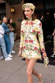 Alexa Chung - Leaving the Bowery Hotel in New York