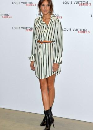 Alexa Chung: Louis Vuitton Series 3 VIP Launch -01