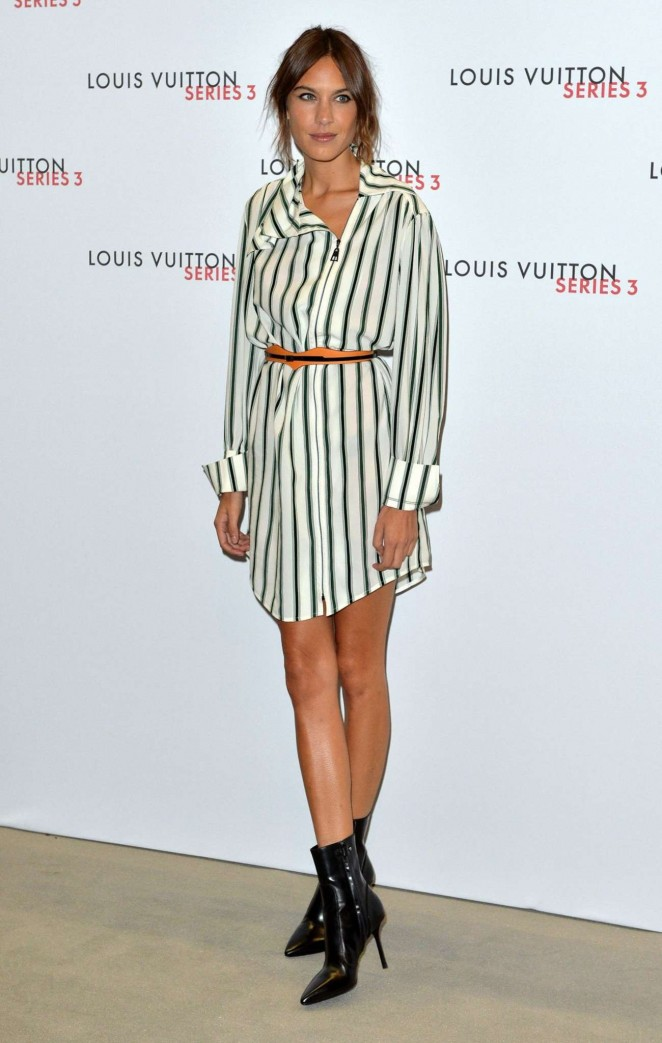 Alexa Chung: Louis Vuitton Series 3 VIP Launch -01