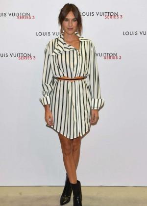 Alexa Chung: Louis Vuitton Series 3 VIP Launch -02