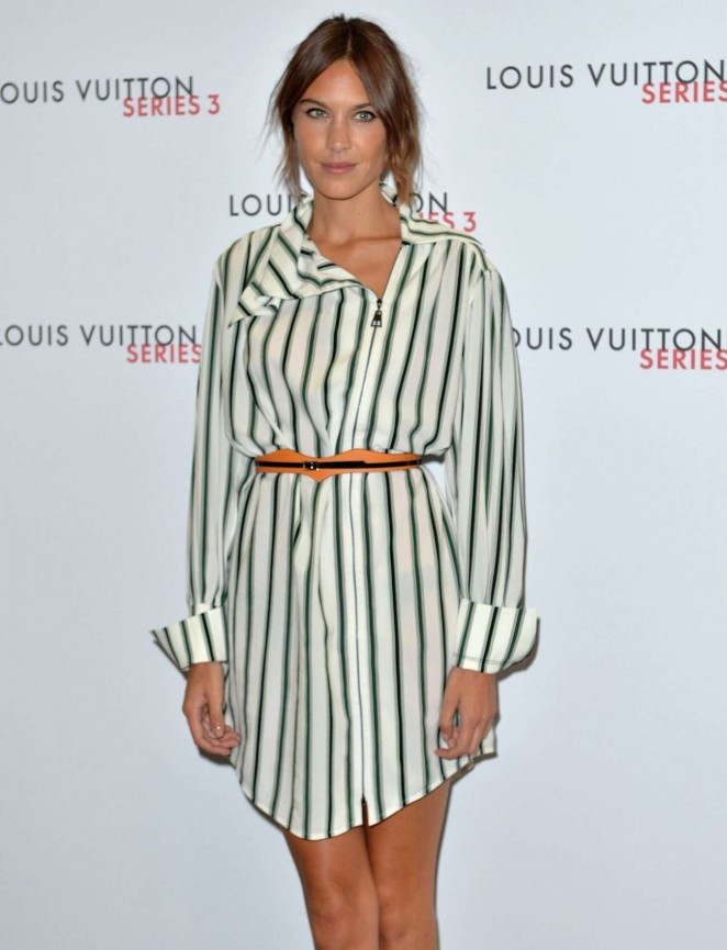 Alexa Chung - Louis Vuitton Series 3 VIP Launch in London