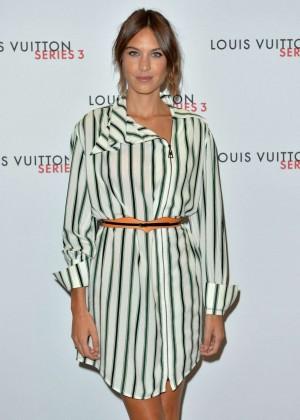 Alexa Chung: Louis Vuitton Series 3 VIP Launch -04