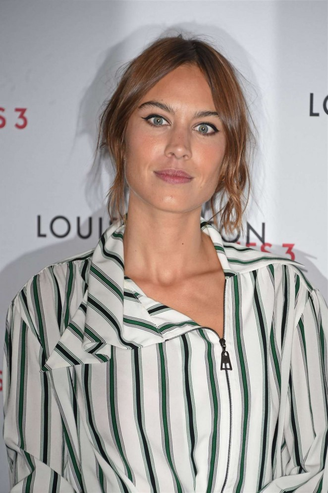 Alexa Chung: Louis Vuitton Series 3 VIP Launch -05