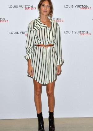 Alexa Chung: Louis Vuitton Series 3 VIP Launch -06