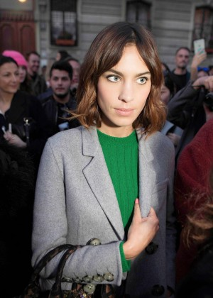 Alexa Chung - Out in Milan
