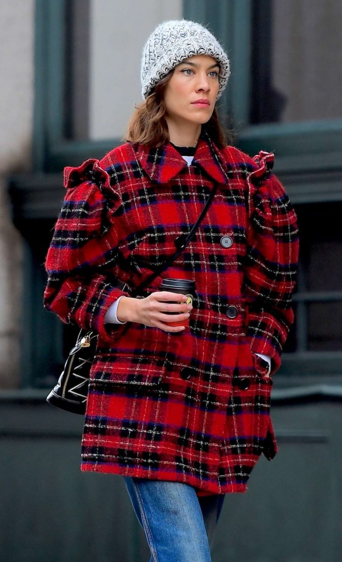 Alexa Chung - Out in New York