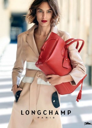 Alexa Chung - Peter Lindbergh for Longchamp Spring/Summer 2016