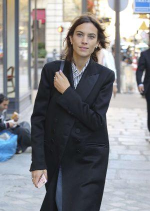 Alexa Chung - Shopping in Paris