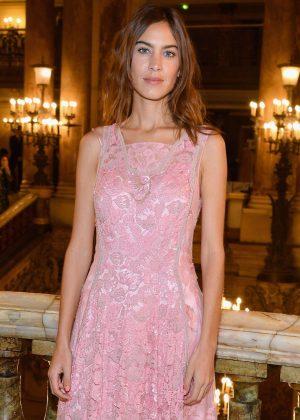 Alexa Chung - Stella McCartney Fashion Show in Paris