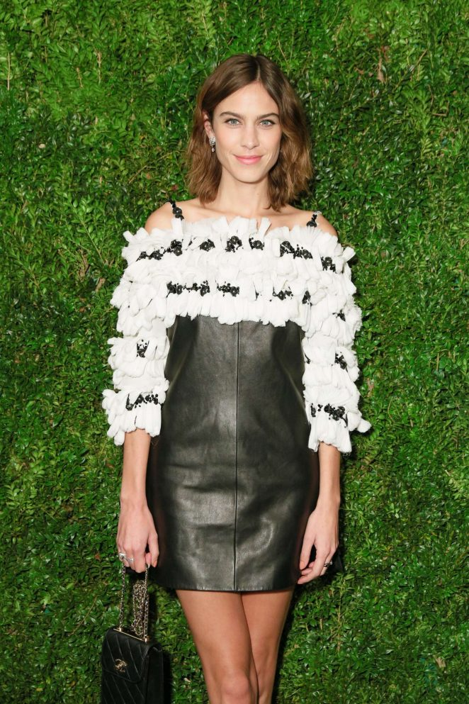 Alexa Chung - The Museum of Modern Art Film Benefit in NY