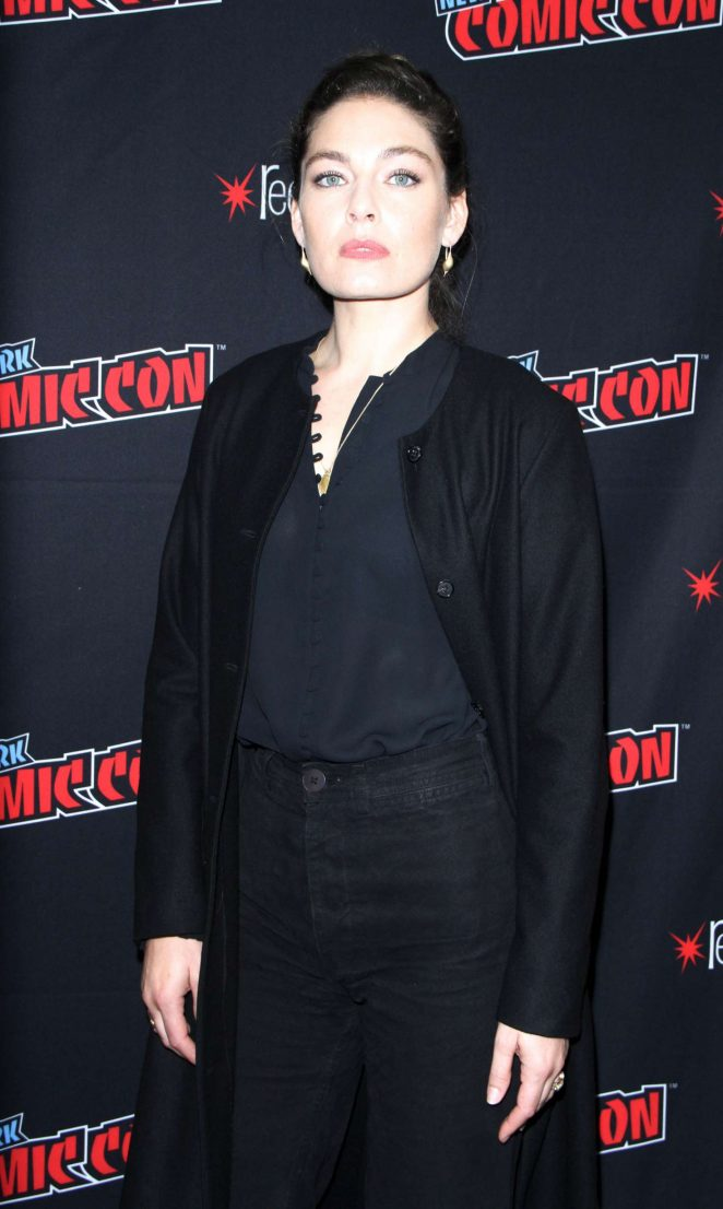 Alexa Davalos - 'Man in the High Castle' Panel at 2018 New York Comic Con