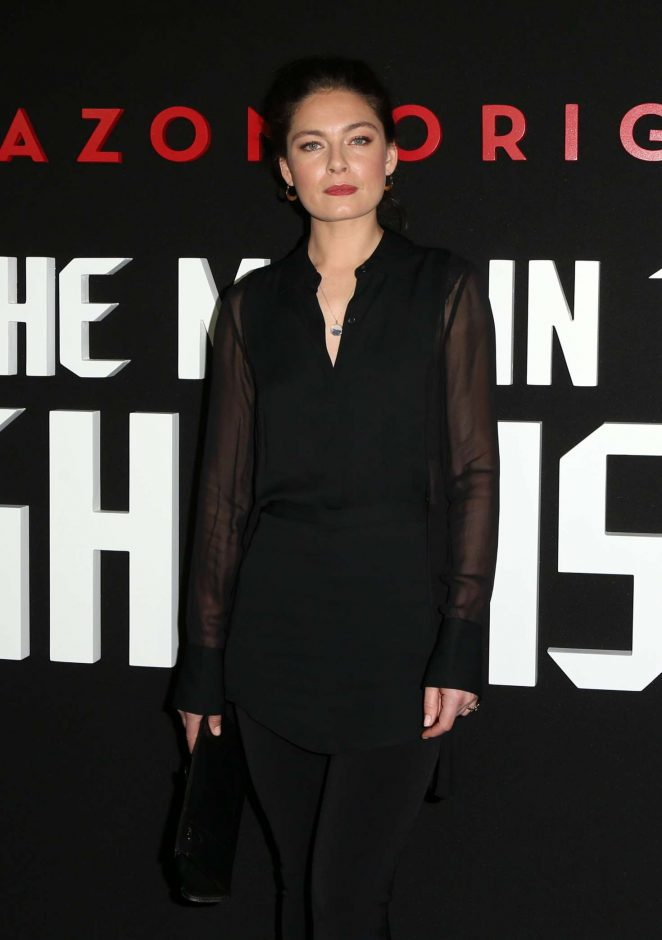 Alexa Davalos - 'Man In The High Castle' Season 2 Premiere in West Hollywood