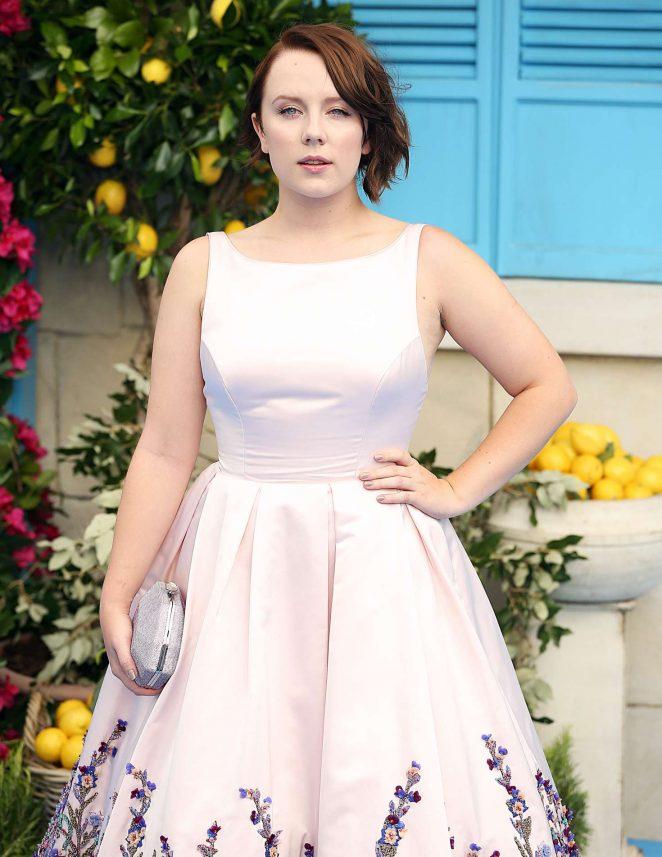 Alexa Davies – 'Mamma Mia! Here We Go Again' Premiere in London