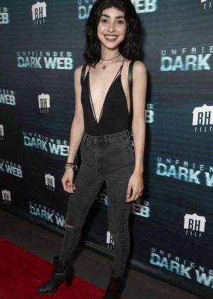 Alexa Mansour - 'Unfriended Dark Web' Premiere in Los Angeles