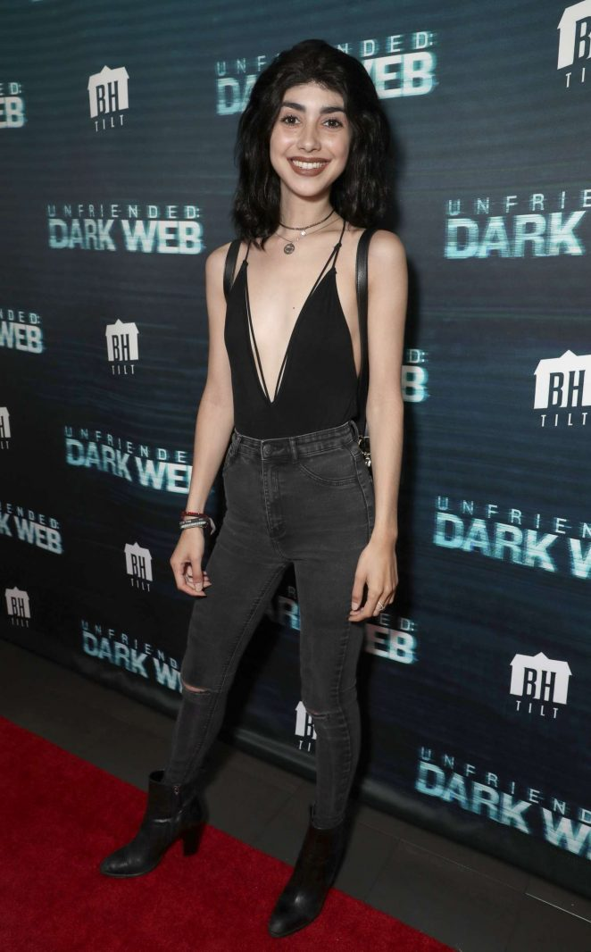 Alexa Mansour - 'Unfriended Dark Web' Premiere in Los Angeles