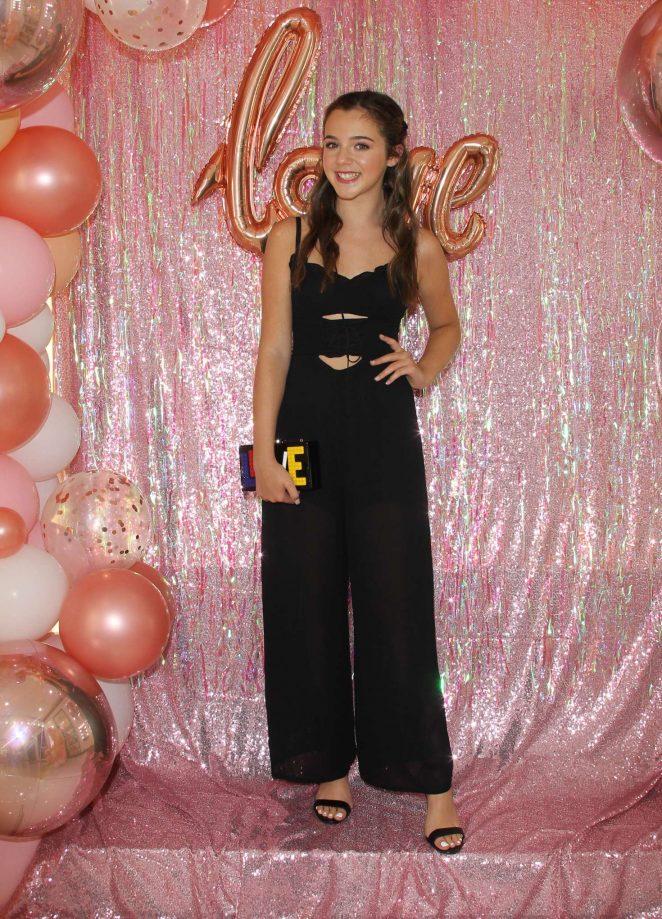 Alexa Nisenson - Mackenzie Ziegler Launches New BeautyLine 'Love Kenzie' in Hollywood