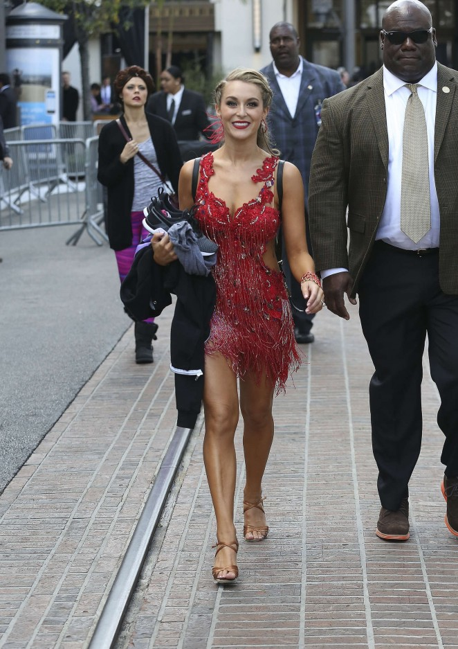 Alexa Pena: Dancing With the Stars at The Grove -01