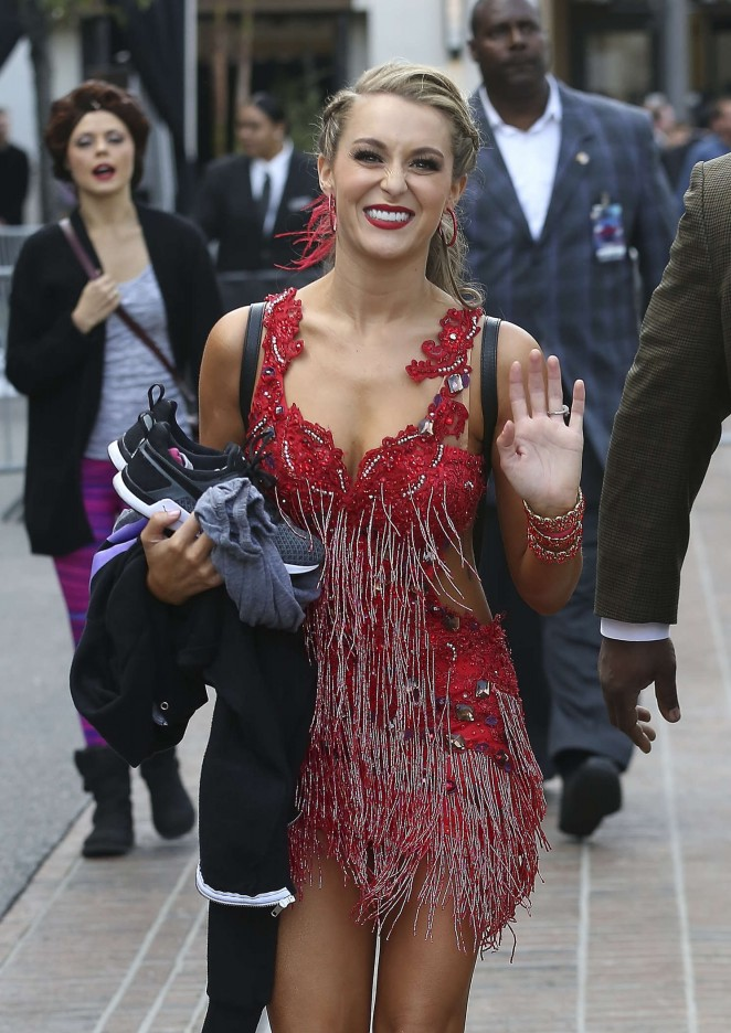 Alexa Pena - Dancing With the Stars at The Grove in West Hollywood