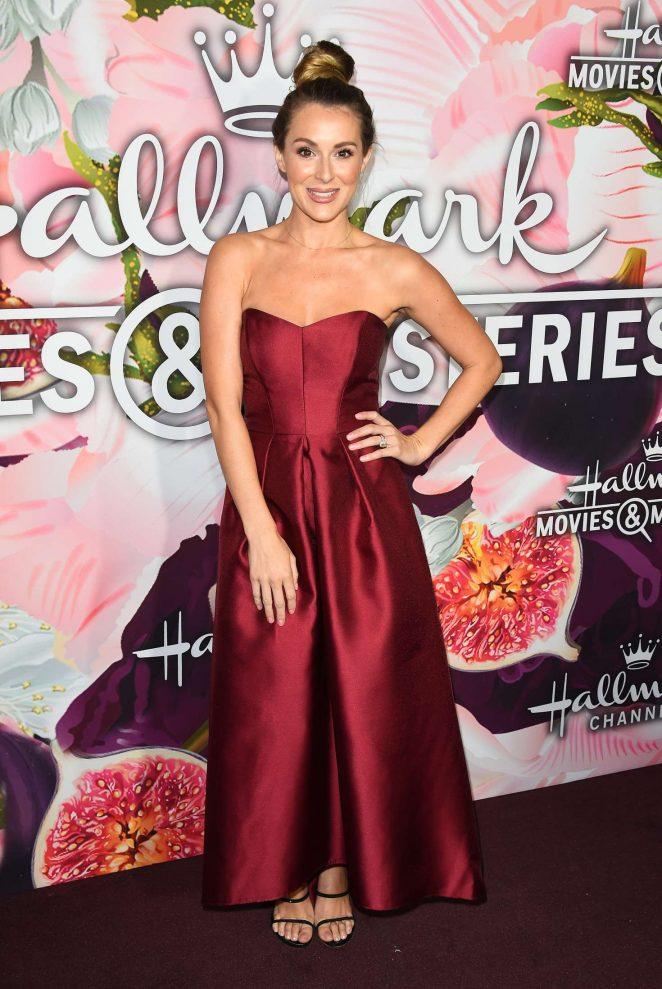 Alexa PenaVega - 2018 Hallmark Channel All-Star Party at TCA Winter Press Tour in LA