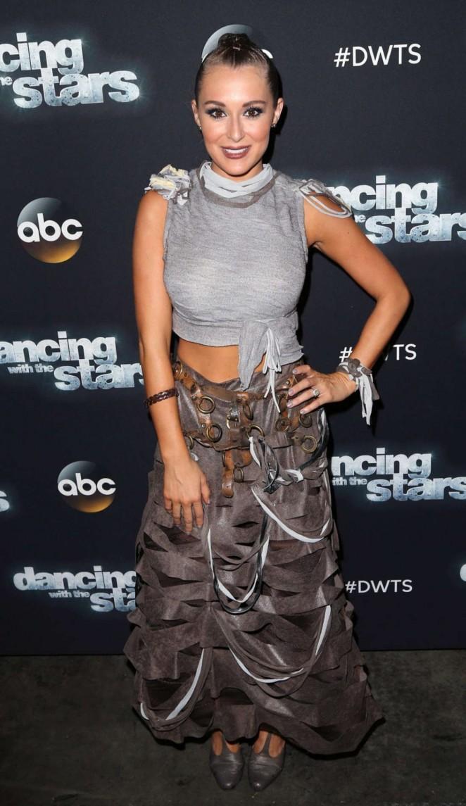 Alexa PenaVega - Dancing With The Stars Photo op at CBS Studios in LA