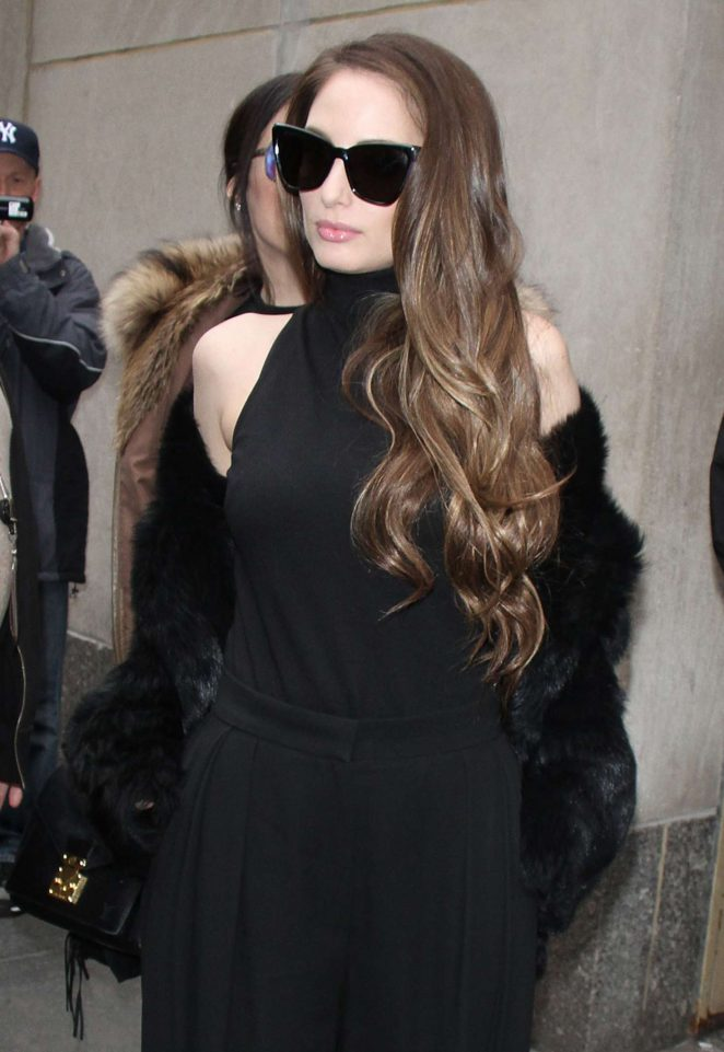 Alexa Ray Joel at 'Today Show' in New York City