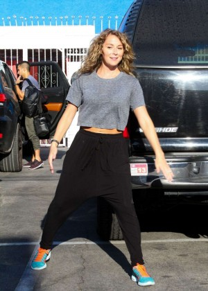 Alexa Vega at Dancing With The Stars Rehersal in Hollywood