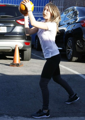 Alexa Vega at the DWTS Studio in Hollywood