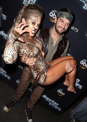 Alexa Vega - Dancing with the Stars Photo op at CBS Studios in LA