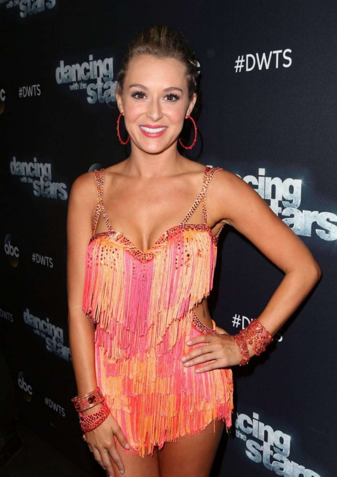 Alexa Vega - Dancing With The Stars Photo Op in LA