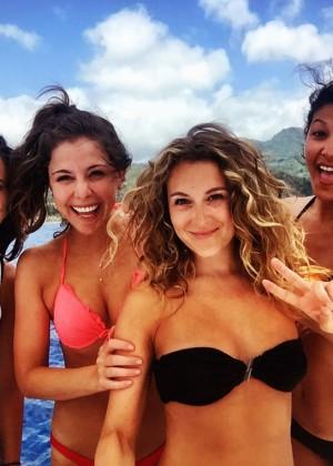 Alexa Vega in Bikini on Vacation - Instagram