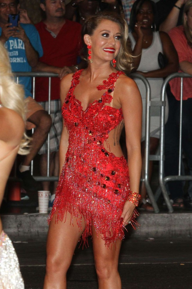 Alexa Vega - Shooting a scene for DWTS in Hollywood